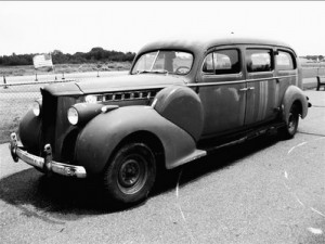 1940 packard Hearse