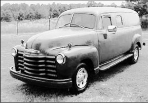 1953 Chevy Panel van