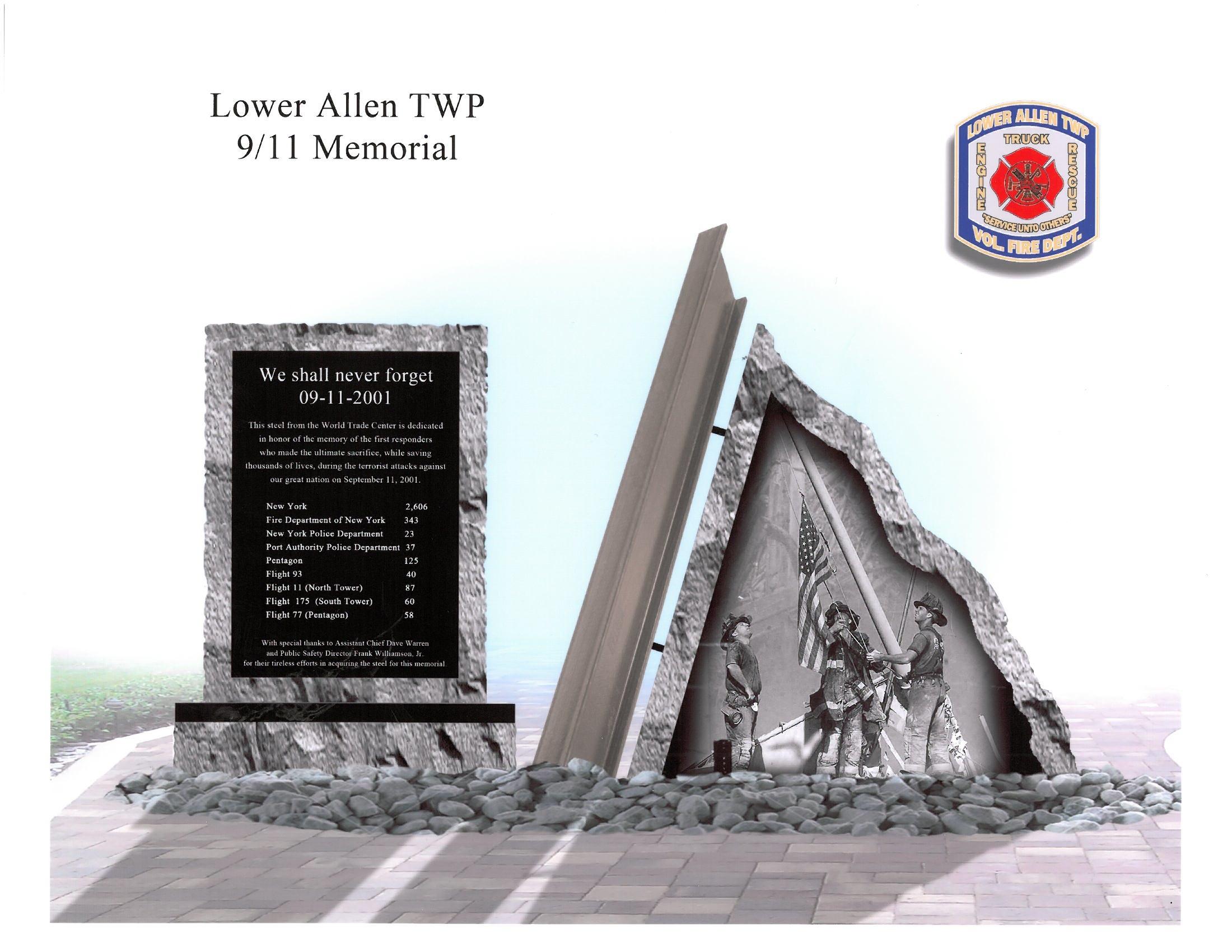 LAFC 9-11 memorial